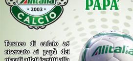 PUNTO SCUOLA CALCIO BABEL: PARTE L'ORGANIZZAZIONE DEL TORNEO DEI PAPA'