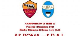 ROMA – SPAL: L'ALITALIA CALCIO INVITATA ALLO STADIO OLIMPICO