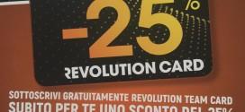 REVOLUTION CARD: CONVENZIONE CISALFA – ALITALIA CALCIO